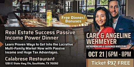 Real Estate Success: Power Dinner / Entrepreneur Workshop tickets
