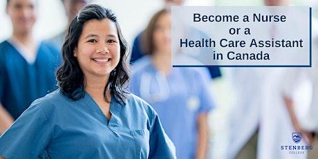 Philippines+UAE: Become a Nurse/HCA in Canada – Free Webinar: Oct 30 tickets