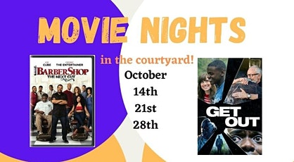 October Movie Nights in the Courtyard tickets