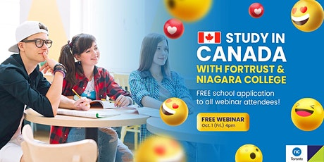 Study in Niagara College Toronto with a $2,000 Scholarship tickets