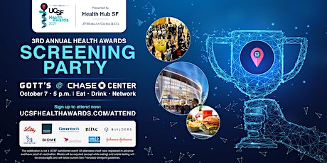 3rd Annual UCSF Health Awards 2021 tickets