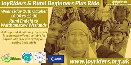 Beginners Plus  Rumiؒ  Mosque  Enfield to Walthamstow Wetlands tickets
