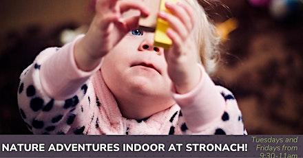 Nature Adventures Indoor Playgroup - Stronach Communtiy Centre! tickets