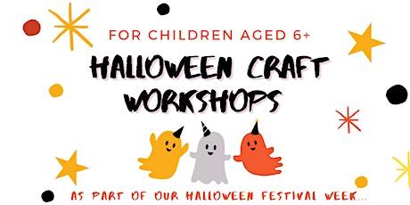 Halloween Craft Workshops for Children tickets