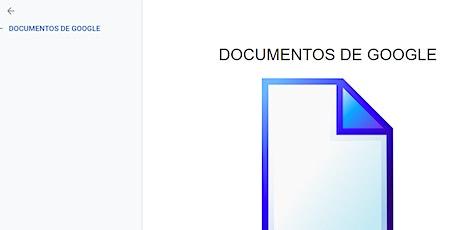 Herramientas de Google I: crear documentos sin Word entradas