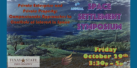 6th Annual Space Settlement Symposium tickets