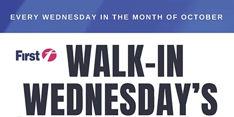 Walk-In Wednesday's in October for Youngsville, NY tickets