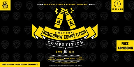 Bines and Brews Homebrew Competition tickets