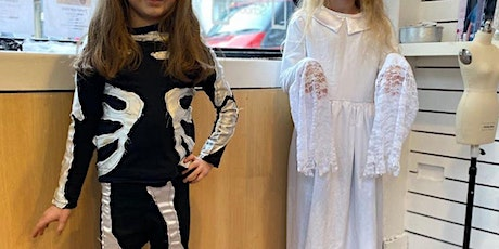 Halloween Costume  Sewing Workshop for Kids,  Ages 7 - 11 tickets