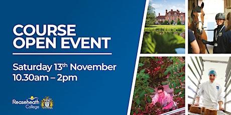 Course Open Event - November 2021 tickets