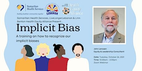 Implicit Bias Training by John Lenssen | Taller Sobre Prejuicio Implícito tickets