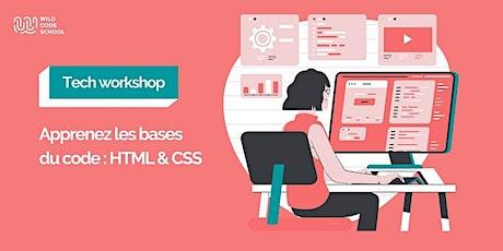 Tech Workshop réservé aux femmes - Apprenez les bases du code : HTML & CSS billets