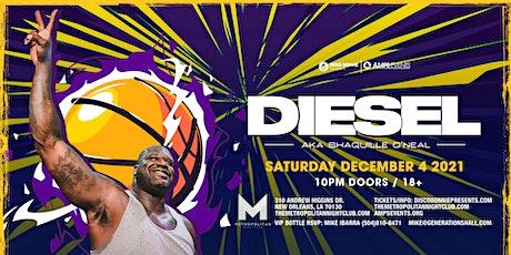 DJ DIESEL - Live at The Metropolitan - Saturday, December 4, 2021 tickets