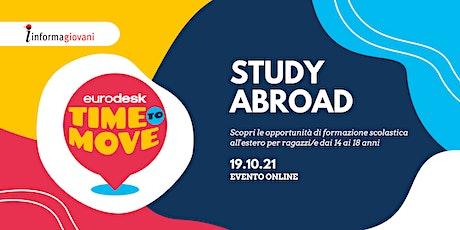 Study abroad - Time to move biglietti