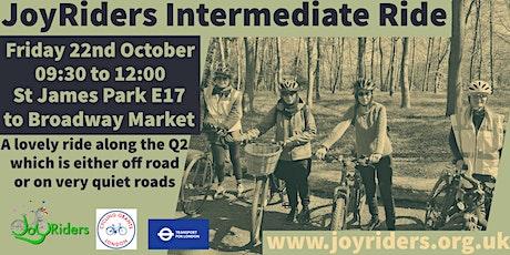 Women's Intermediate Bike Ride from St James Park to Broadway Market tickets