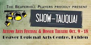 TIM ISBERG @ Beaverhill Players Autumn Arts Festival &...