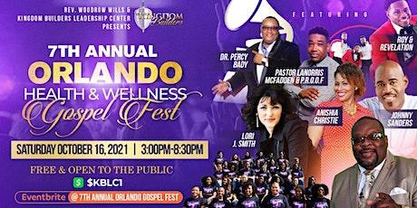7th Annual Orlando Health and Wellness Gospel Fest tickets