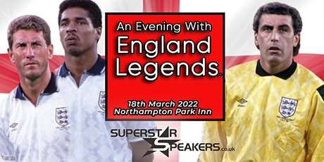 An Evening with England Legends - World Cup Themed Event tickets
