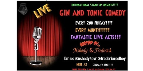 Gin and Tonic International Comedy: Open Mic tickets