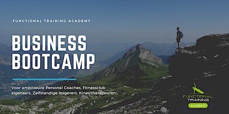 Business bootcamp voor de Personal Coach tickets
