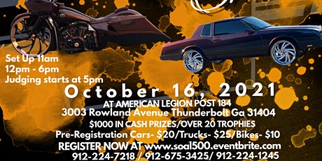 1st Annual Sons of the American Legion Car & Bike Show tickets