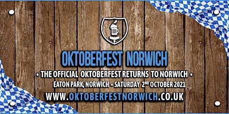 Oktoberfest Norwich 2021 tickets