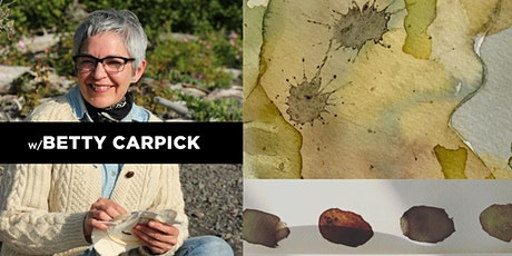 Natural Inks from Bush and Garden with Betty Carpick tickets