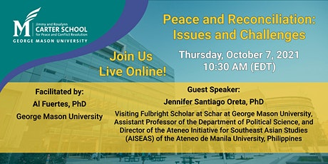 Peace and Reconciliation: Issues and Challenges tickets
