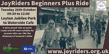 Beginners Plus  Ride Leyton Jubilee to Waterside tickets
