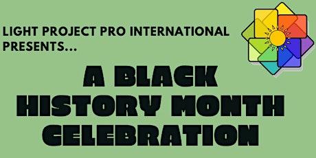 A Black History Month Celebration tickets
