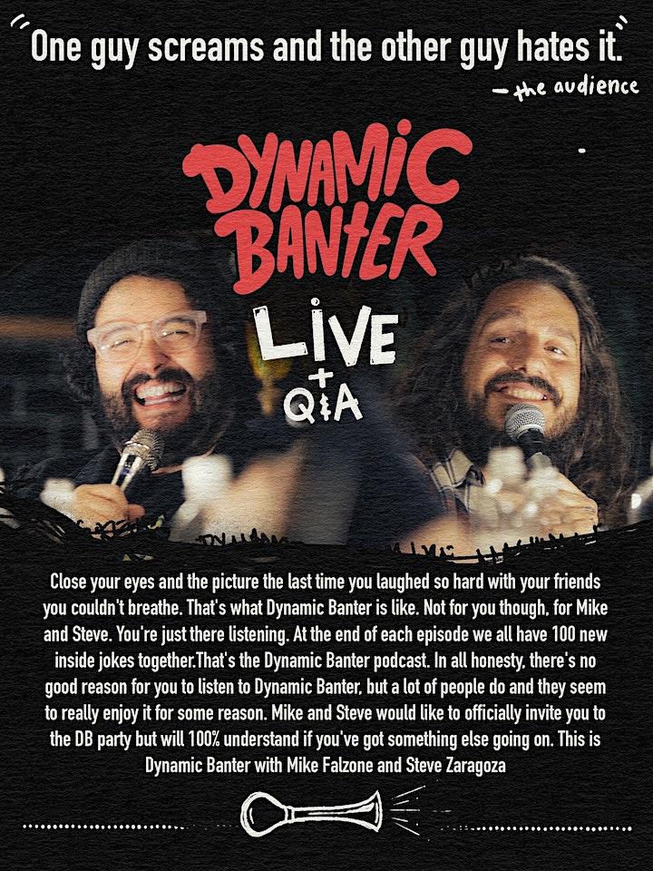 Dynamic Banter LIVE image