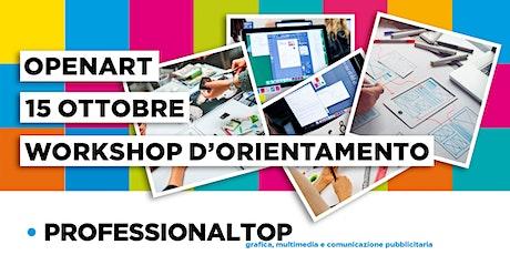 WORKSHOP D'ORIENTAMENTO sui corsi di grafica, multimedia e pubblicità biglietti