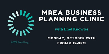2022 Business Planning Clinic with Brad Knowles tickets