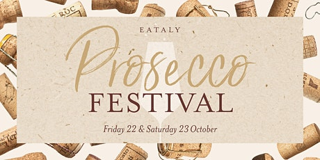 Prosecco Festival at Eataly tickets