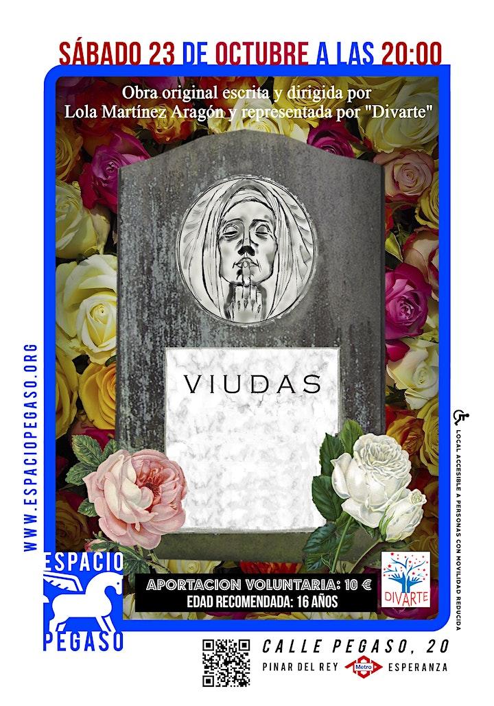 """Imagen de TEATRO EN ESPACIO PEGASO """"VUIDAS""""  COMEDIA SABADO 23 OCTUBRE 20H"""