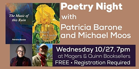 Poetry Night with Patricia Barone and Michael Moos tickets