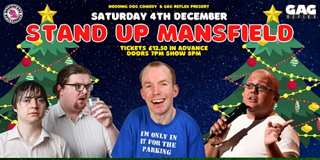 Stand Up Mansfield Christmas Special tickets