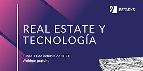 La tecnología y el Real Estate boletos