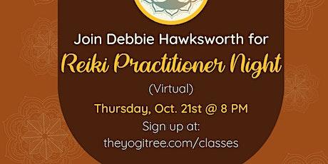 Reiki Practitioner Night (Virtual) tickets