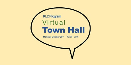 KL2 Virtual Town Hall tickets
