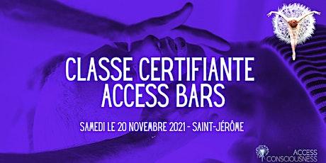 Classe Certifiante Access Bars billets