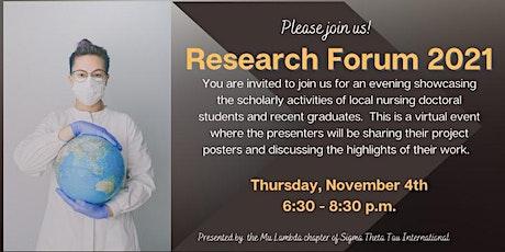 Nursing Research Forum tickets