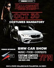 BMW HALLOWEEN EVENT tickets