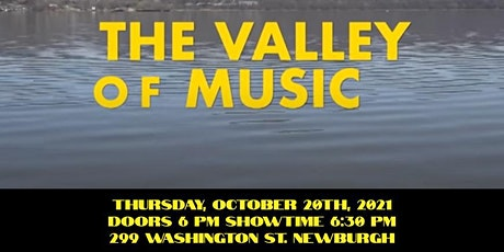 Movie Night: Featuring Valley of Music at Hudson Valley Arts Live tickets