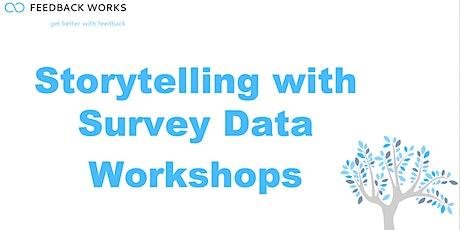 Storytelling with Survey Data Training Workshops tickets