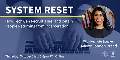 How Tech Can Recruit, Hire, & Retain People Returning from Incarceration tickets
