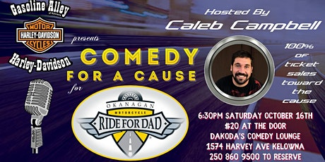 Gasoline Alley presents Comedy for a Cause for Ride for Dad tickets