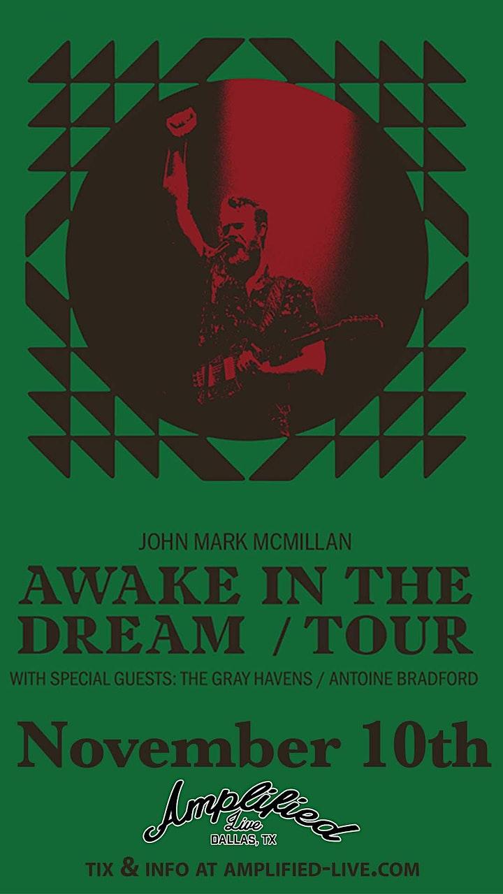 John Mark McMillan - Awake In The Dream Tour image