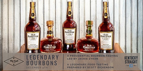 Legendary Bourbon Series Old Forester 150th and Birthday Bourbons tickets