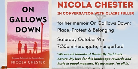 On Gallows Downs - Nicola Chester tickets